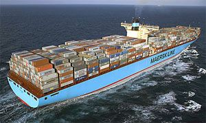 image: Maersk, Vietnam, US, West, Coast, feeder, container, shipping, lines, transit, port, MOL, APL, Los Angeles, Cat Lai, Cai Mep, vessel.