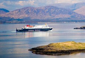 image: UK Scottish freight ferry service CalMac Serco ferries state owned Clyde Hebrides