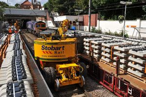 image: UK Stobart road haulage logistics Southend airport biomass property rail
