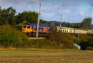 image: UK GBRf rail tour charity railtour railfreight prostate cancer