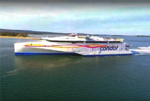 image: UK Channel Islands France Brittany Ferries Condor freight ferry services