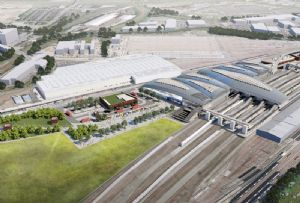 image: UK freight transport HS2 CILT rail system Net Zero greenhouse gas emissions by 2050