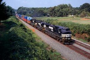 image: Rail freight, haulage, USA, Norfolk Southern Corp, Donald Seale, Union Pacific, rail stock, mothballs, recession, recovery