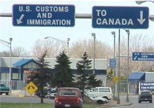 image: US, Canada, Mexico, truck, trucks, freight, logistics, border, Customs, Homeland, security, Whitetail, Montana, Laredo, Arizona, Napolitano, commercial, traffic