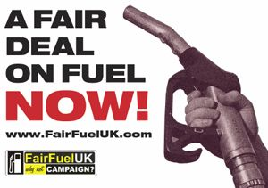 image: UK road haulage freight fuel RAC FairFuel