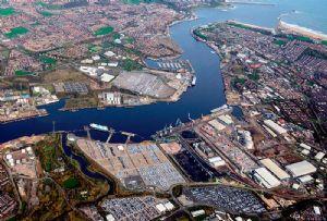 image: UK Port of Tyne logistics carbon