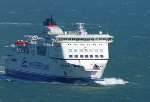 image: MyFerryLink Eurotunnel DFDS RoRo freight ferry SeaFrance assets RoPax