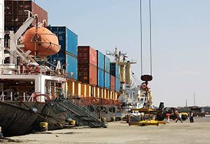 image: Somaliland Port of Berbera trade zone DP World logistics container volumes
