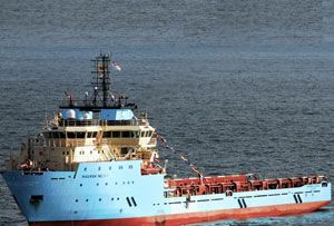 image: RMT Denmark UK Union RMT Maersk OSV container shipping offshore service vessel