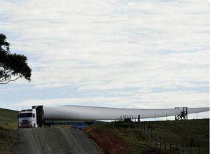 image: France Ireland road haulage freight wind farm cabotage IRHA foreign drivers blockade ports