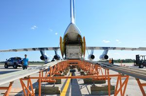 image: Canada Russia air freight forwarding heavy lift cargo truck sea transport