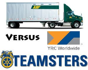 image: US YRC Teamsters union ABF freight system road haulage court case supply chain trucking group