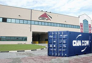 image: France Ceva CMA CGM logistics freight forwarding acquired stock market Switzerland container shipping line