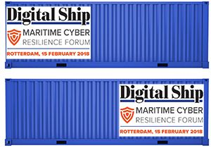 image: Netherlands cyber security shipping and forwarding logistics supply chain