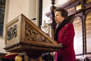 image: UK seafarers charity Christmas lesson shipping industry Princess Royal Anne