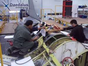 image: Daedalus freight forwarding and logistics military aviation