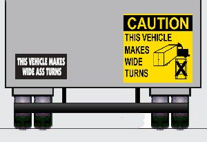 image: EU commission UK truck safety HGV emissions Freight transport road haulage aerodynamics cyclist