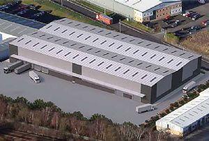 image: UK Onward Holdings narrow aisle warehouse space eCommerce logistics Brexit