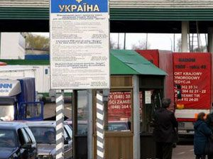 image: Russia export import truck freight Ukrainian Customs Belarus queues EU summit
