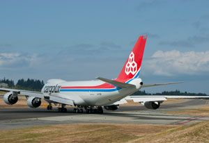 image: Munich air cargo freight forwarding Cargolux exhibition