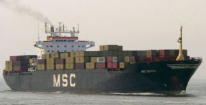 image: container, cargo, dock, docks, waste, toxic, asbestos, Brazil, export
