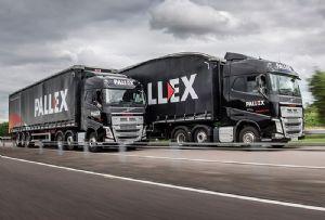 image: UK Pall-Ex pallet network sale delivery Hilary Devey CBE