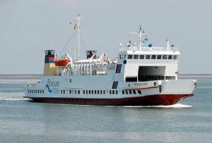 image: Europe Wartsila RoPax ferry aftship retrofit LNG fuel Wadden Sea Unesco heritage site