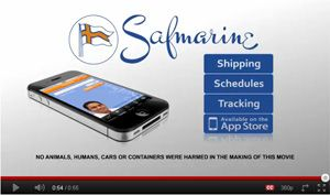 image: Safmarine shipping container track and trace cargo technological freight YouTube