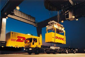 image: Germany Iran Turkey freight Europe DHL exporter truck loads groupage