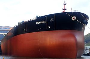 image: Greece ISO 50001 bulk freight oil tanker shipping VLCC tonnes shipping energy fuel conservation