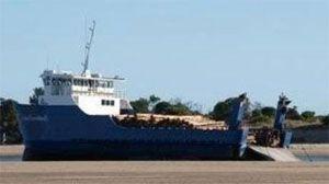 image: Australian RoRo Freight Ferry Service Crew Strike Tasmania Australia Furneaux Flinders Bridport Captain Bligh vessel TasPorts