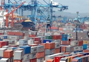 image: Shipping Customs Clearance Delays Freight Containers Mombasa Kilindini Harbour Kenya Revenue Authority Ministry of Transport Ports Authority containers cargo freight