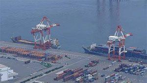 image: Calcutta Congestion Container Handling Export Traffic Kolkata Calcutta India vessels Haldia reach stackers shunter units Port Authority infrastructure port import demurrage