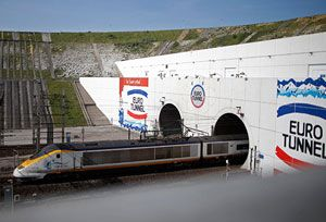 image: Europe France UK channel tunnel freight rates tariffs rail regulation Eurotunnel MyFerryLink RoRo