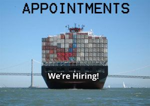 image: UK Allseas Global ocean shipping road haulage air freight forwarding logistics staff recruitment appointments