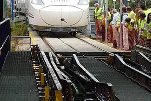 image: Kazakhstan RzD rail freight track Talgo Agility logistics