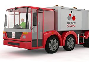 image: London UK road haulage pollution vehicle design LEZ ULEZ congestion charge freight carrier