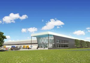 image: Prologis Menlo Con-way trucking freight logistics supply chain Eindhoven Netherlands US