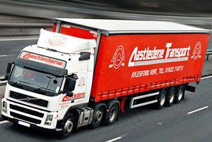 image: UK road haulage pallet network Palletline Pallet-Track