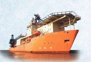 image: UK shipping line logistics marine support ROV Bibby GAC