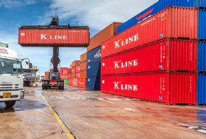image: Japan K Line shipping logistics AI