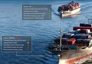 image: Panama Canal container ships bulk freight carriers Pole Star PurpleTRAC system compliant