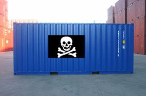 image: Swiss Somali piracy freight shipping container line