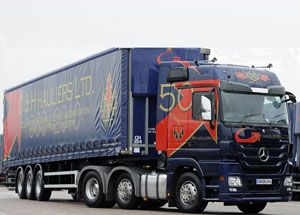 image: UK Charles Gee C & H (Hauliers) freight forwarding logistics road haulage administration