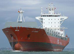 image: Singapore Transocean Oil STX Mumbai container shipping bunkering TEU