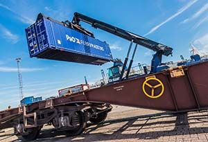image: UK P&O Ferries logistics rail freight traffic volumes jump big growth