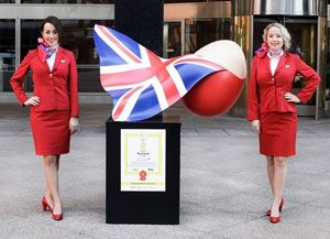 image: US UK ASIA Virgin Atlantic Cargo Big Egg Hunt logistics free freight Elephant Family charity Agnes Gund