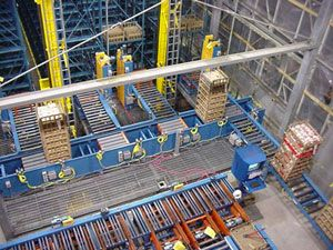 image: US conveyor nuclear waste logistics supply chain Lauyans handling equipment