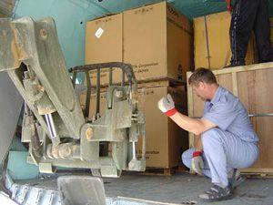 image: Iraq express freight groupage part load logistics