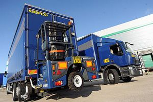 image: Europe freight logistics transit times GEFCO